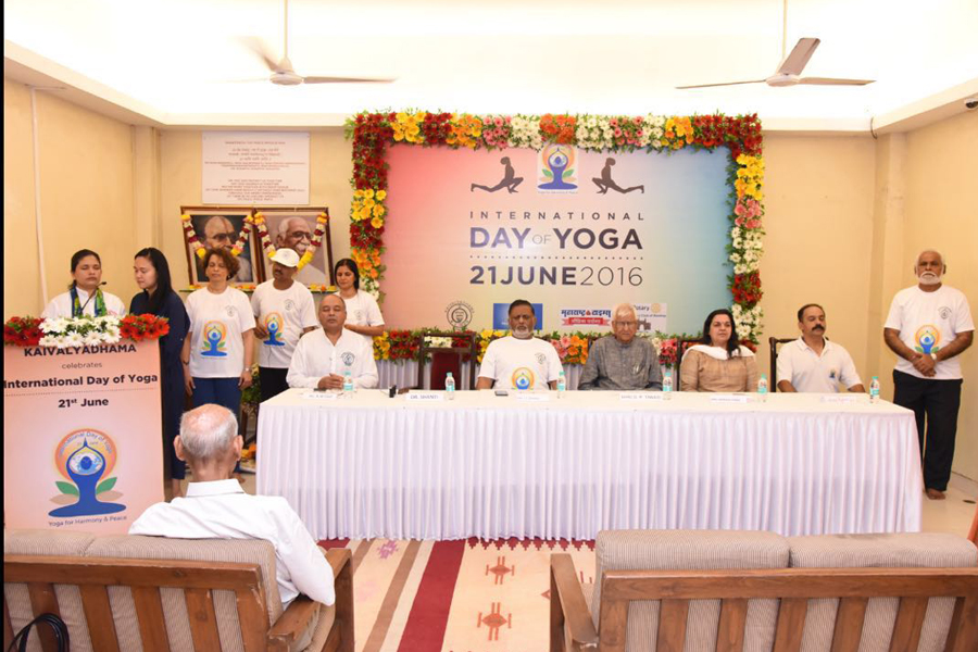 International Yoga Day dated June 21, 2016