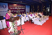 67th Annual Convocation of SNDT Women's University