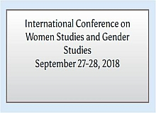 International Conference on Women Studies and Gender Studies
