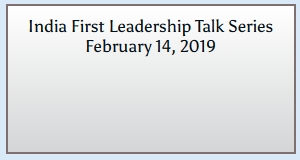 India First Leadership Talk Series'