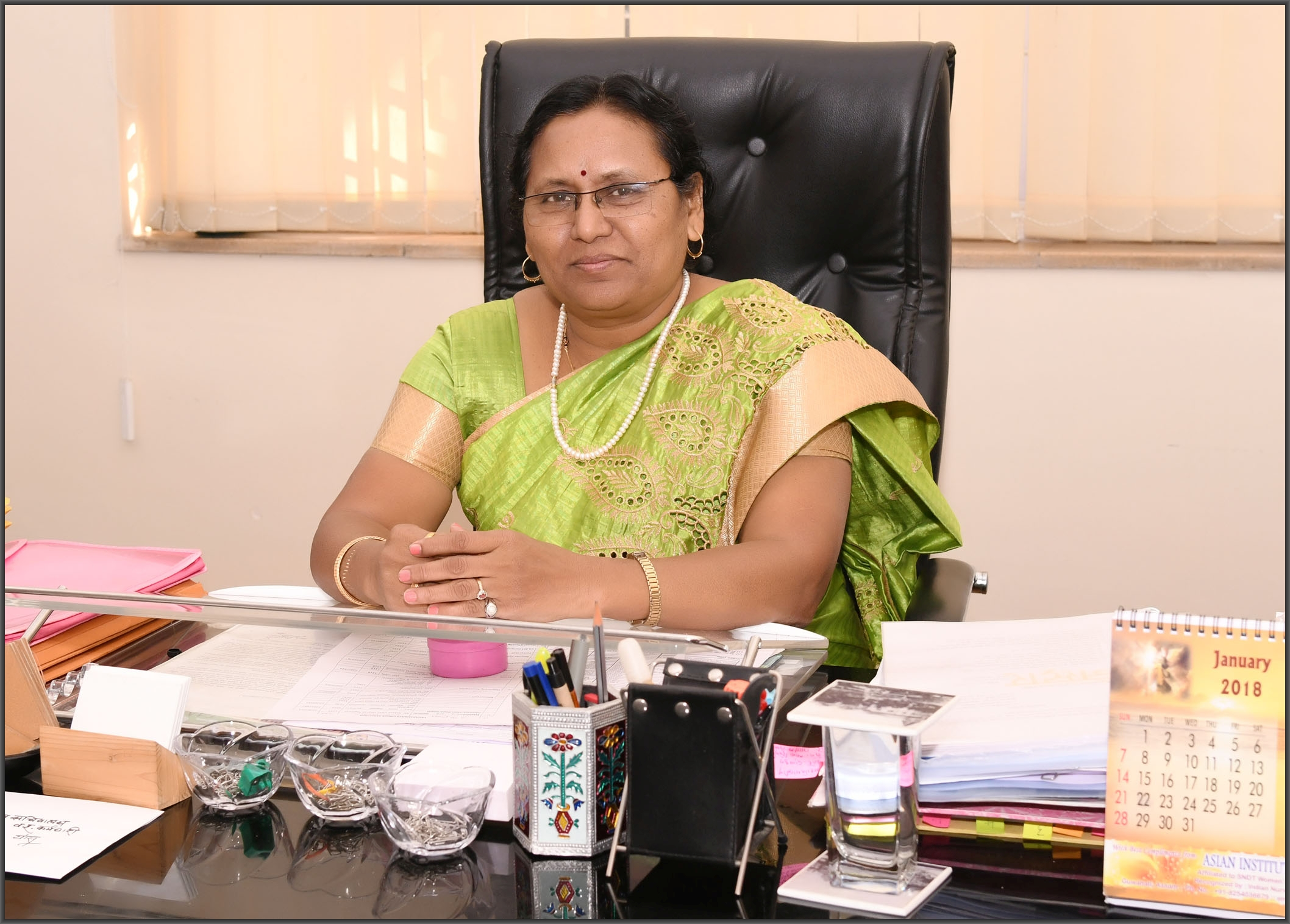 Dr. Meena Kute, Registrar Additional Charge