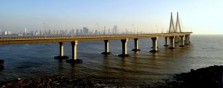 Bandra–Worli Sea Link - Mumbai