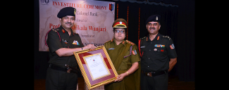 Rank of Colonel to Professor Shashikala Wanjari, Vice Chancellor, SNDT WU
